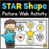 Star Shape Picture Web Activity for Preschool