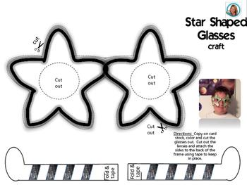 Star Shaped Glasses by Teacher's Brain