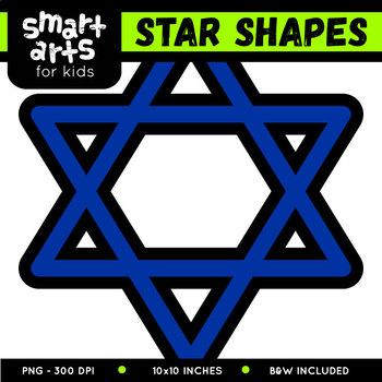 Star Shapes Clip Art