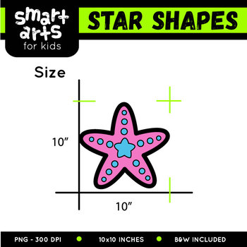 Star Shapes Clipart
