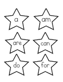 Star Sight Word Pointers