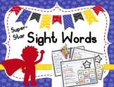 Sight Words: Super Star Sight Words- 25 High Frequency Words