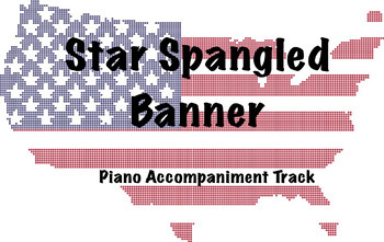 Star Spangled Banner Accompaniment Track