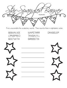 Star-Spangled Banner Activity & Quiz