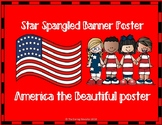 Star Spangled Banner & America the Beautiful Posters