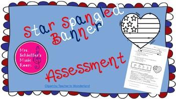 Star Spangled Banner Assessment