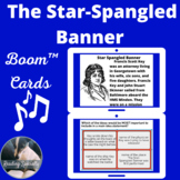 Star Spangled Banner Boom™ Cards™ passage and questions -digital