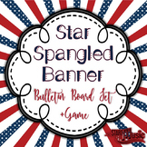Star Spangled Banner Bulletin Board + Game