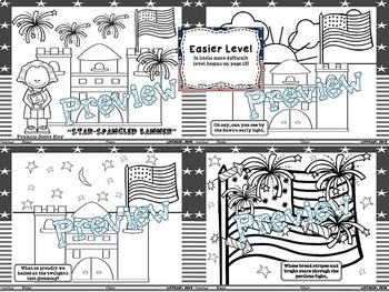 Star-Spangled Banner Booklet (Coloring & More)