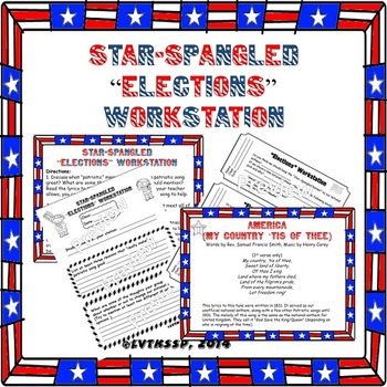 "Star-Spangled Banner ""Elections"" Workstation"