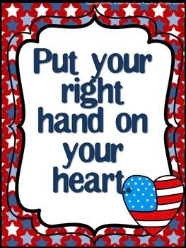 Star Spangled Banner Etiquette Bulletin Board