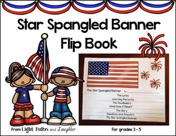 Star Spangled Banner Flip Book