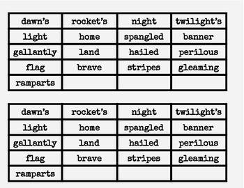 Star Spangled Banner - Learn the words
