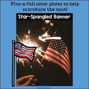 Star-Spangled Banner Mini Book for Early Readers: American Symbols