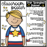 Star-Spangled Banner National Anthem Classroom Poster US Symbols
