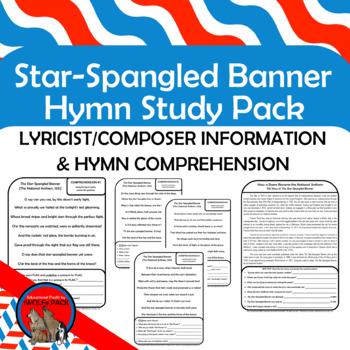 Star Spangled Banner National Anthem Hymn Study Pack
