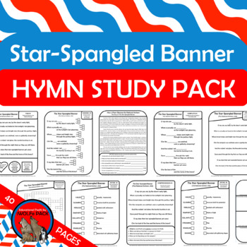 National Anthem Activities Worksheets Teachers Pay Teachers