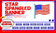 Star Spangled Banner STAR Quest for SMARTNotebook and iPads