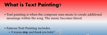 Star Spangled Banner Symbolism and Text Painting