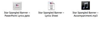 Star-Spangled Banner USA National Anthem Full Band Accompaniment