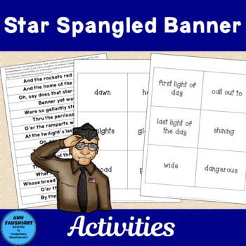 Star Spangled Banner Vocabulary