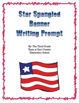 Star Spangled Banner Writing