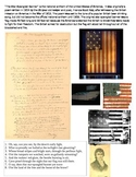 Star Spangled Banner-history of the song HANDOUT