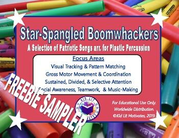 Star Spangled Boomwhackers: FREEBIE Sampler Pack