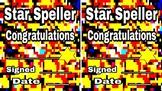 Star Speller Award