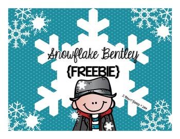snowflake bentley freebie by jessica scott teachers pay teachers