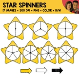 Star Spinners Clipart