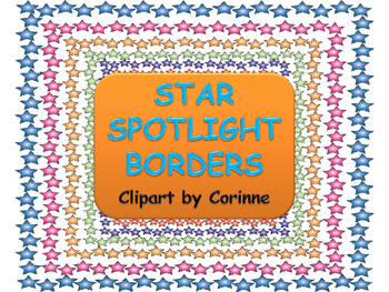 Star Spotlight Borders
