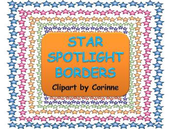 Star Spotlight Borders
