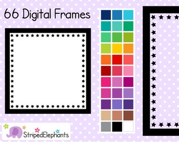 Star Square Digital Frames 1