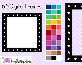 Star Square Digital Frames 2