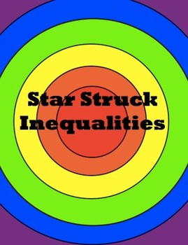 Star Struck Inequalities  for the SMARTboard 7.EE.4