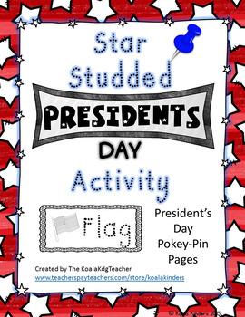 Star Studded President's Day Pokey Pin FREEBIE