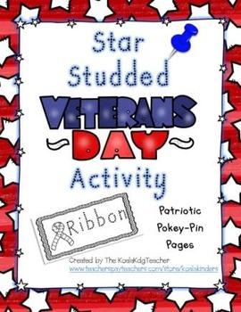 Star Studded Veteran's Day Activity