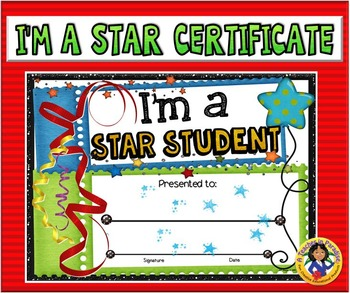 Certificate - Star Student 2