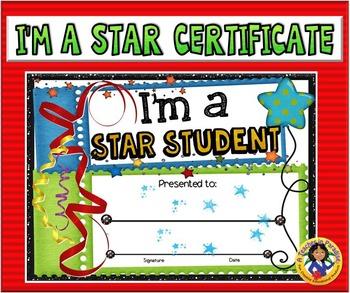 Certificate - Star Student 2