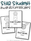 Star Student Awards