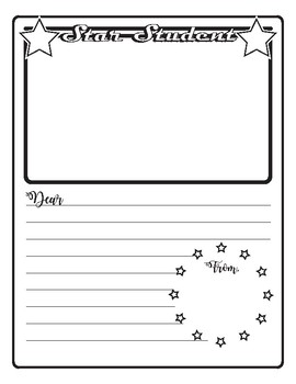 Star Student Booklet