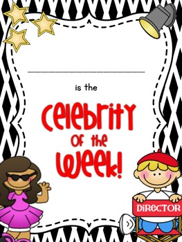 Star Student - Celebrity of the Week - Editable