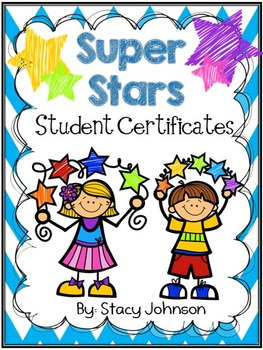 star student certificates free by stacy johnson tpt