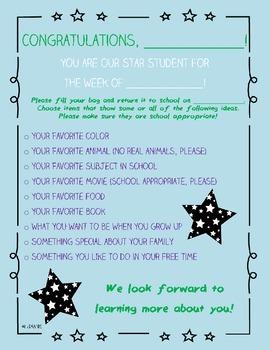 Star Student Checklist