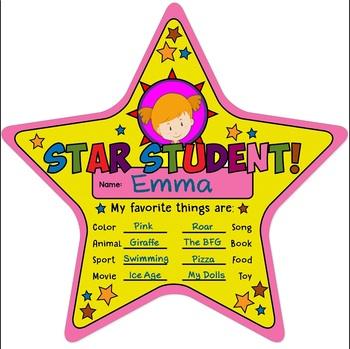 Star Student { Classroom Management Tool }