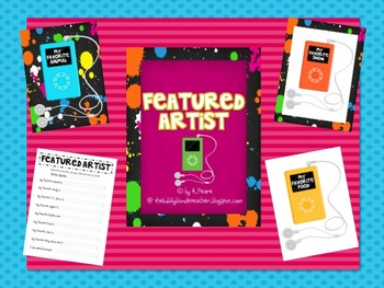 Star Student-Featured Artist Rock and Roll Theme
