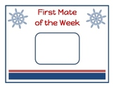Star Student, First Mate of the Week