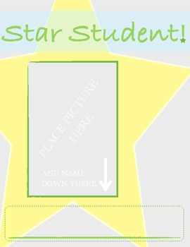Star Student Handout