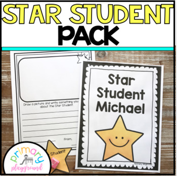 Star Student Pack ~  Editable
